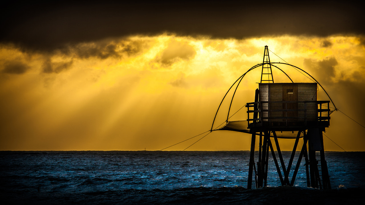 Photograph Sunset on the fisherman's house by Mika Topia on 500px