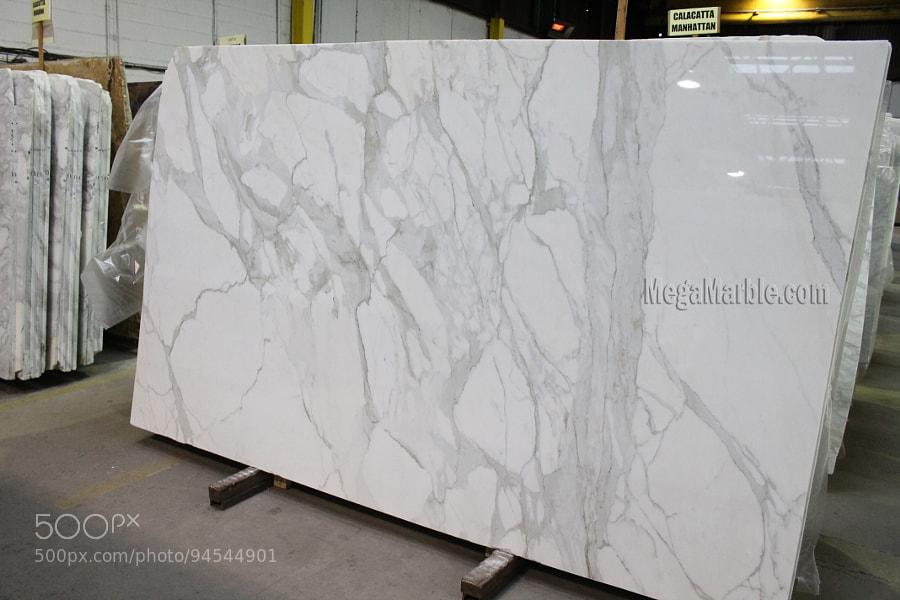 White Marble Slabs Mega Marble