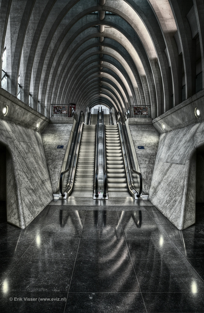Photograph Escalator by Erik Visser on 500px