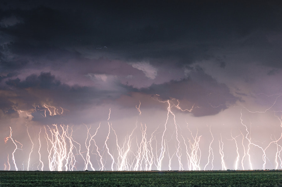 Photograph Electric Rain by Brandon Green on 500px