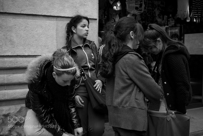 Photograph Waiting at Portal del Ángel by Eduardo Páramo on 500px