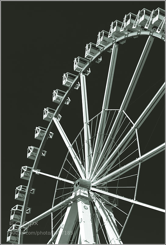 Photograph Ferris Wheel II by Gunnar Gall on 500px