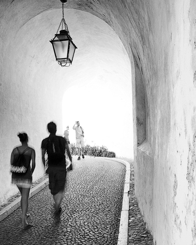 Photograph Walking inside a tunnel of light by Olavo Azevedo on 500px