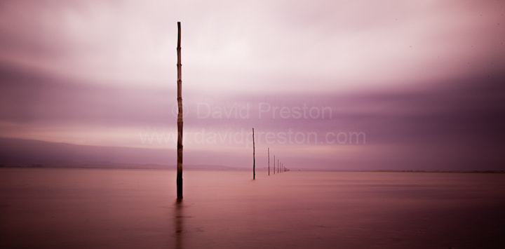 Photograph Holy Island causeway markers by David Preston on 500px
