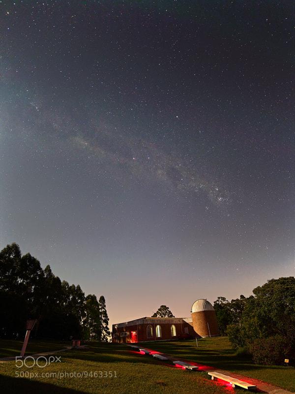 Photograph Moonlit observatory by Rafael Defavari on 500px