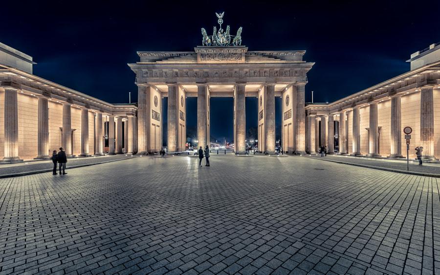 Berlin? Berlin! The Brandenburg Gate by Jens Walter on 500px.com