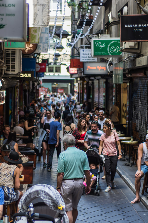 Photograph Centre Place Arcade by David Cooling on 500px