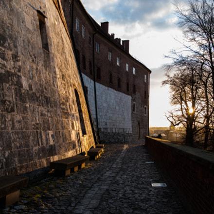 Wawel wall