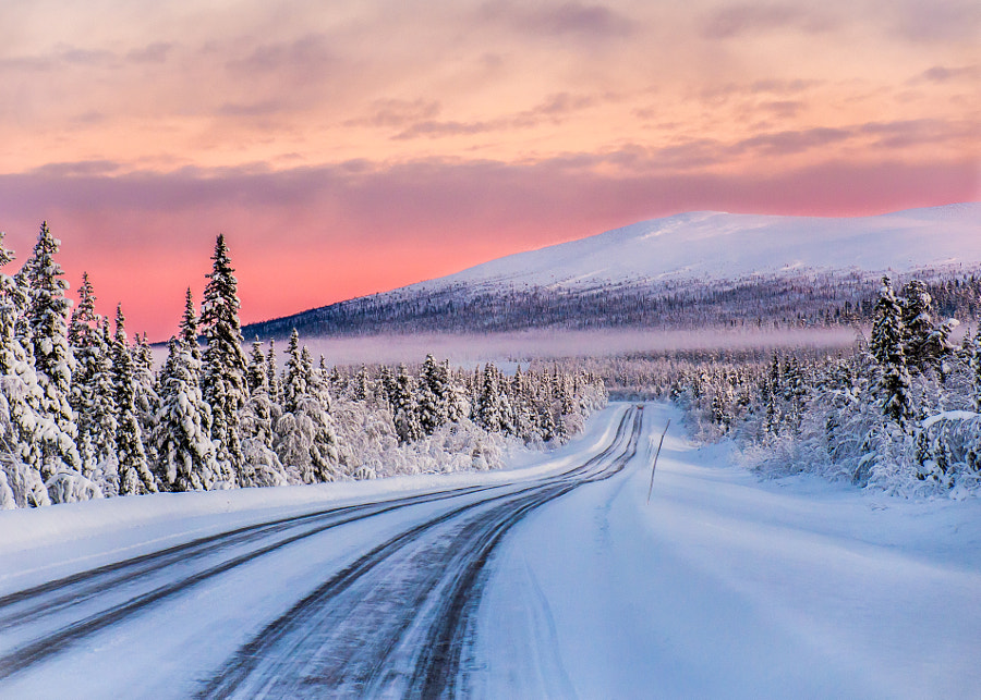 Photograph Road to Dundret by Thomas Karlgren on 500px