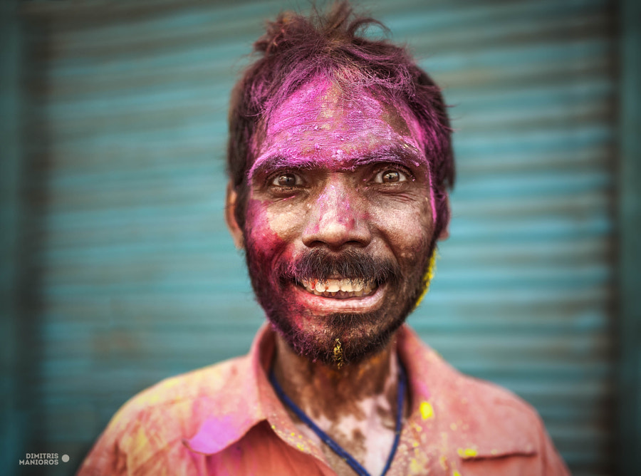 Holi man by dimitris manioros on 500px.com
