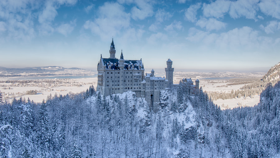 Photograph Neuschwanstein Castle by Manuel Lastiri on 500px
