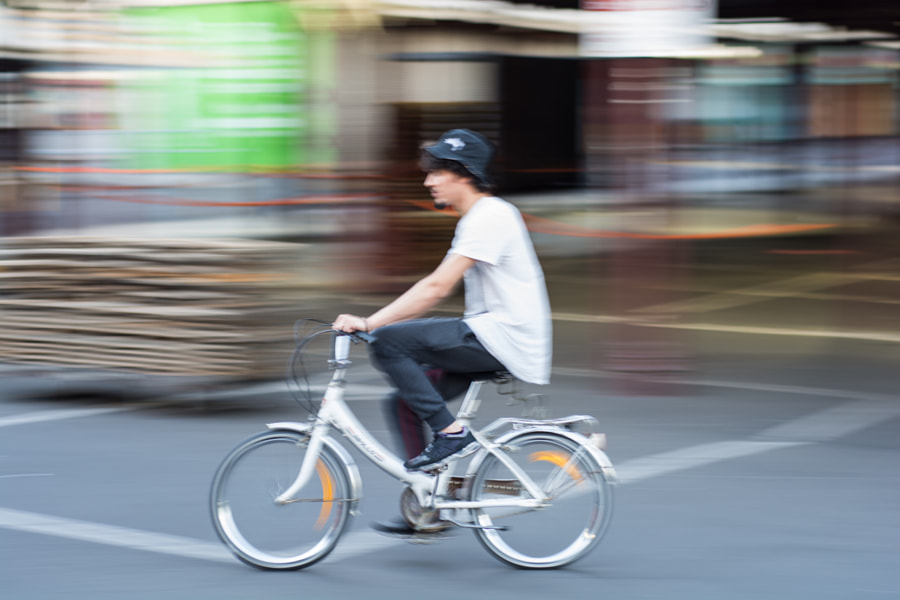 Photograph Queen Vic Markets Bicycle by David Cooling on 500px