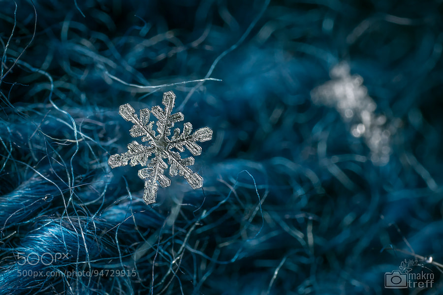 Photograph snowflake n°1 by Valentin Gutekunst on 500px