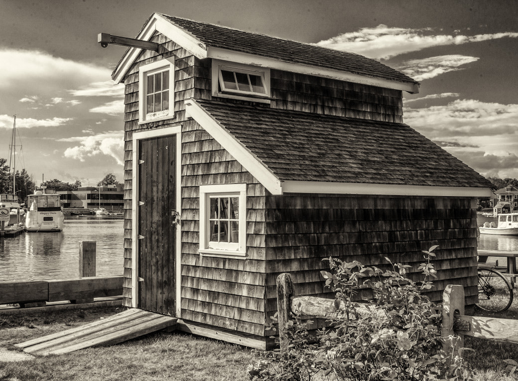 Photograph Boat Yard shed by Bob Kelly on 500px