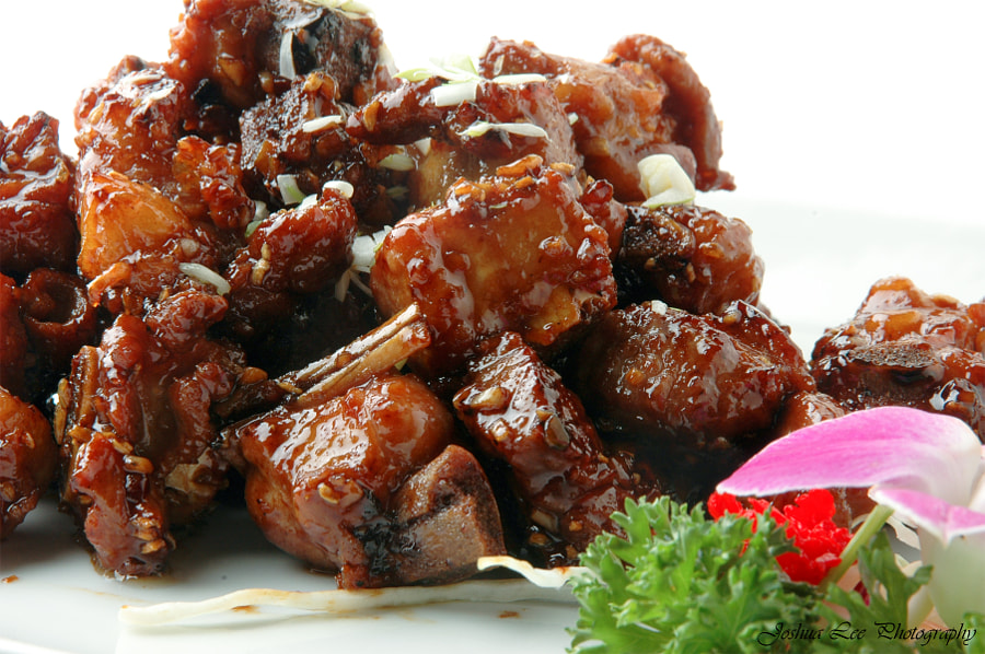 Candied Fried Pork Chop