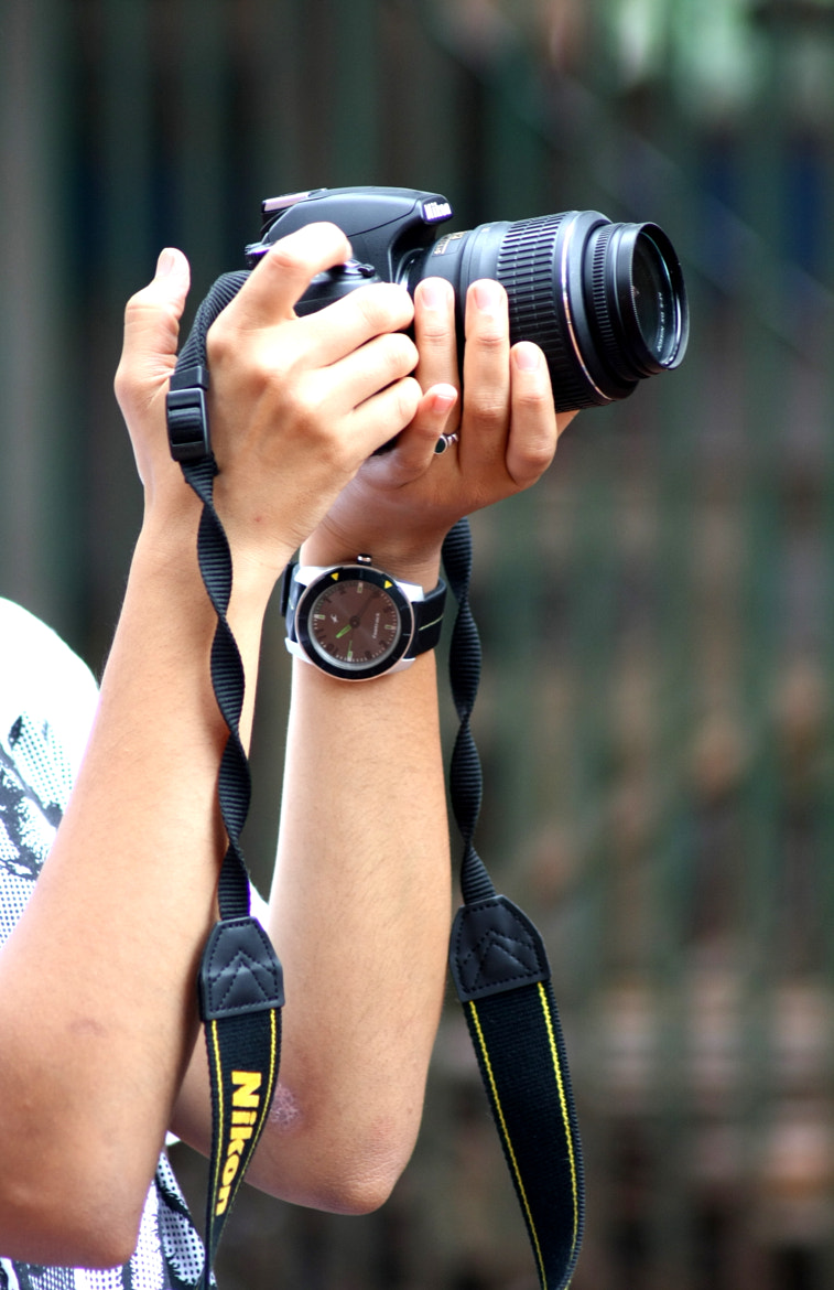 Photograph The watch, The camera and those hands.. by Ahmad hamza on 500px