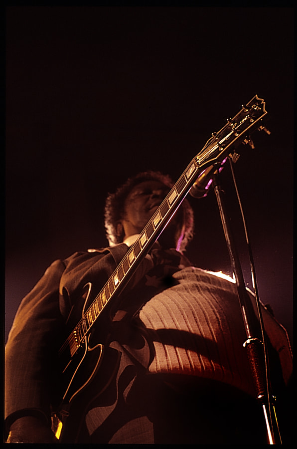 Photograph BB King close-up by Enno Hyttrek on 500px