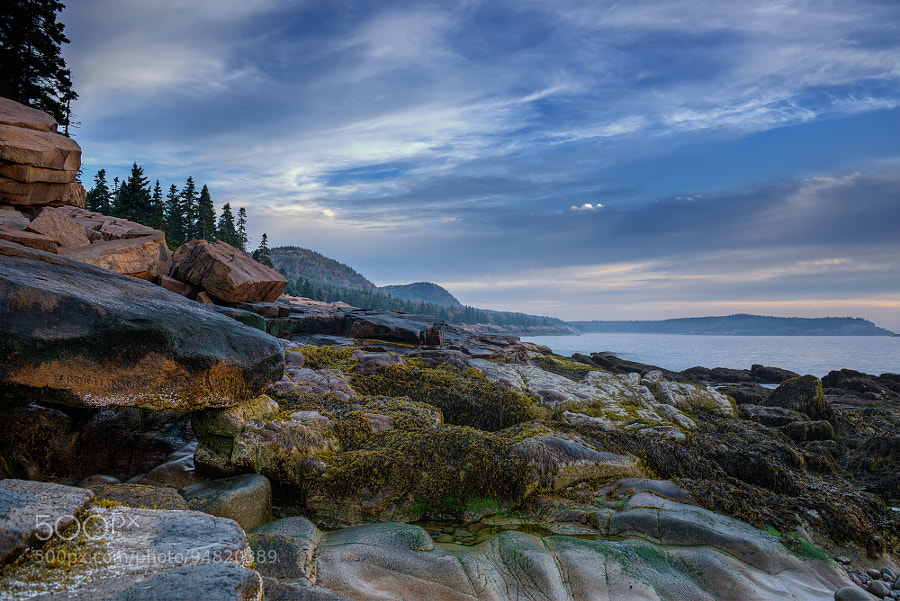 Photograph Sunrise at Otter Point, Acadia National Park, Maine by Rob Hanson on 500px