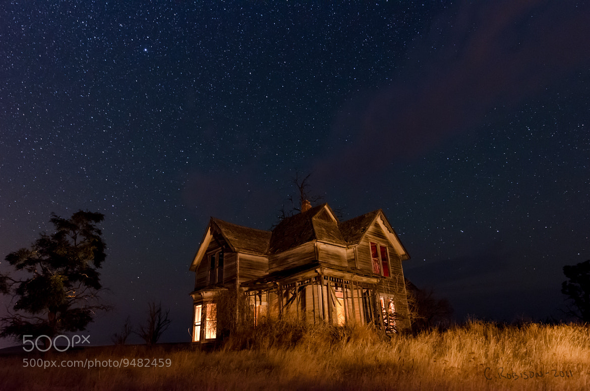 Photograph Spooky House: Marysville, OR by Chris Robison on 500px