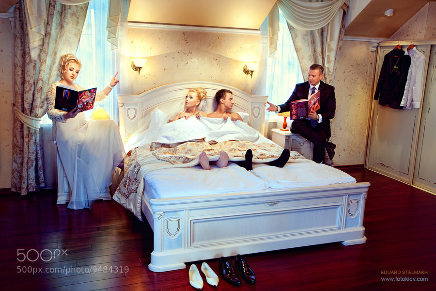 Photograph WEDDING STORY. KAMASUTRA by Eduard Stelmakh on 500px