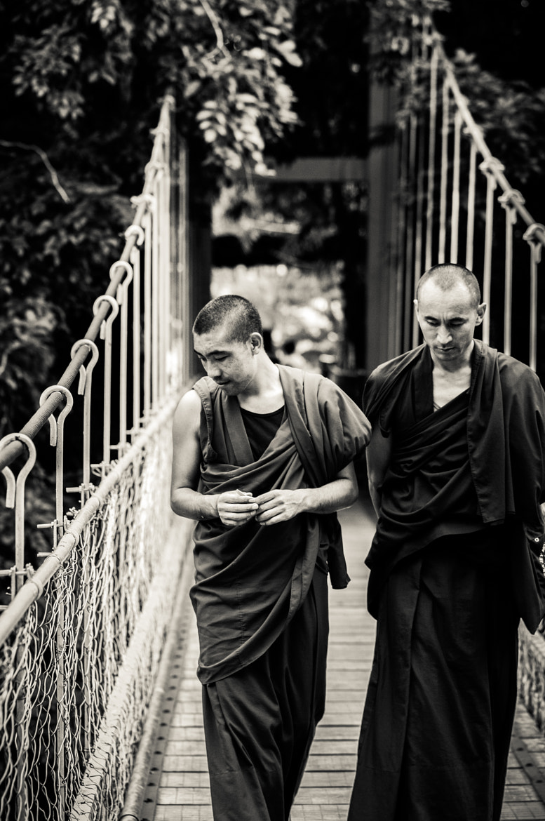 Photograph Monk Duo by Raghunath Rajaram on 500px