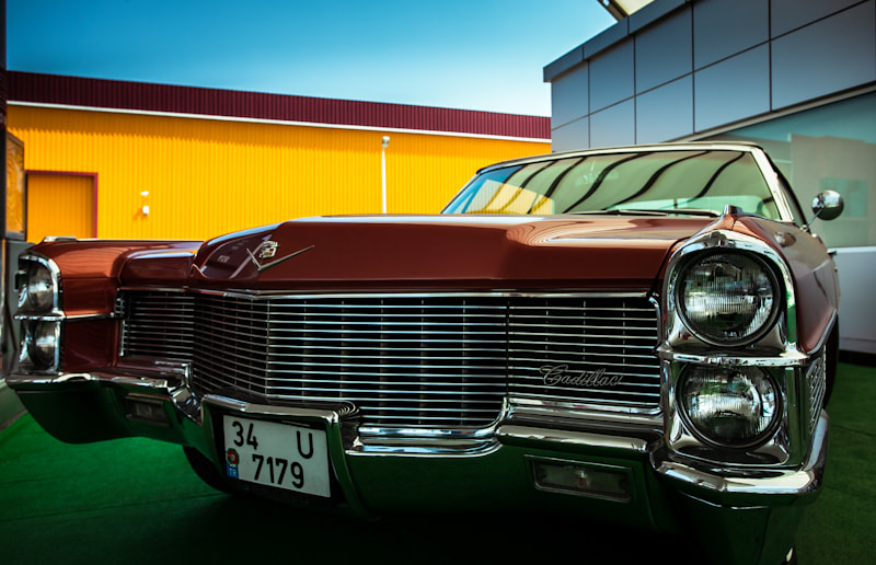 Photograph oldies but goldies-cadillac by mehmetgz  on 500px