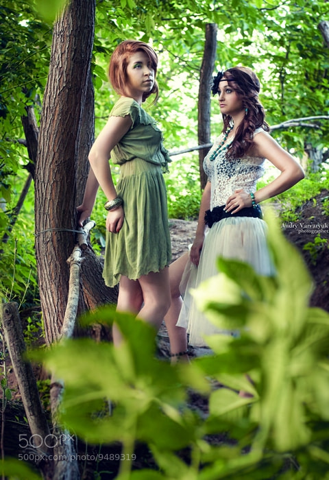 Photograph Kristina and Viktoria 2 by Andry Varvaryuk on 500px