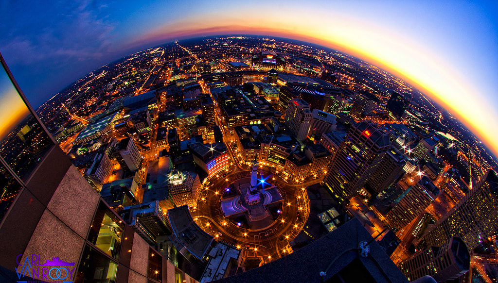 Photograph The Circle City by Carl Van Rooy on 500px