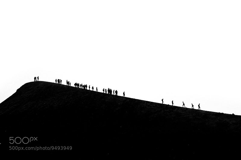 Photograph Walking on the Edge by Mato P on 500px