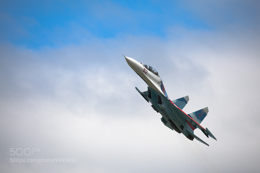 Photograph SU-27 by Denis Belyaev on 500px