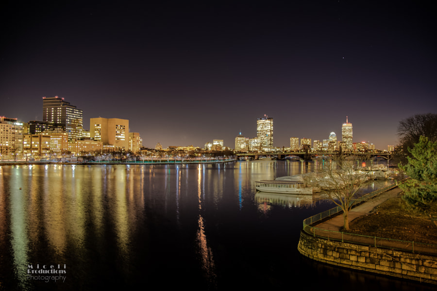 Boston Skyline with the Pru