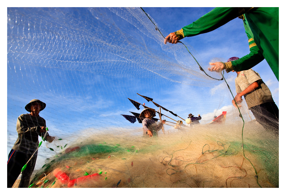 Photograph Fish net by Peter Pham on 500px