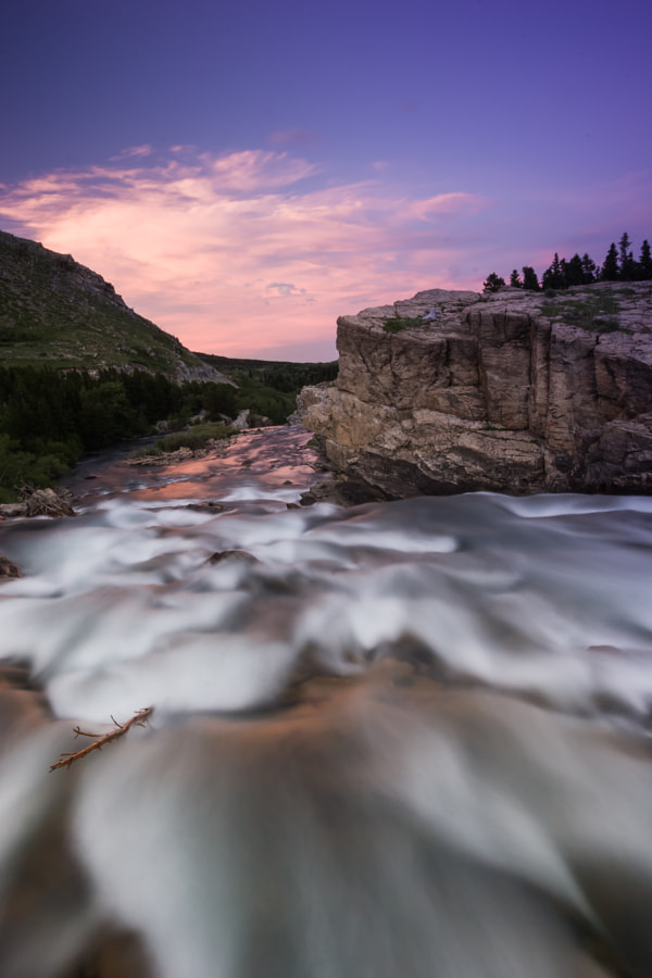 Swiftcurrent Creek, Glacier National Park, Montanna
