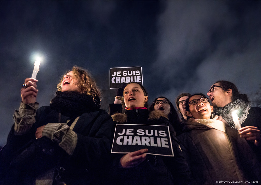 Photograph Je Suis Charlie by Simon Guillemin on 500px