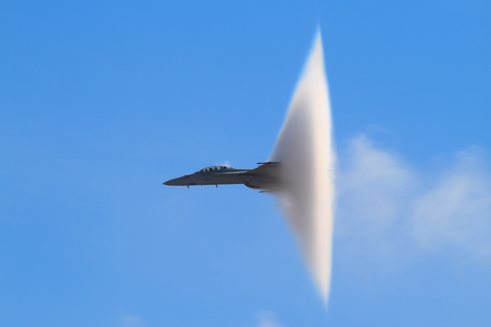 Photograph F-18 Vapor Cone by Steve Skinner on 500px