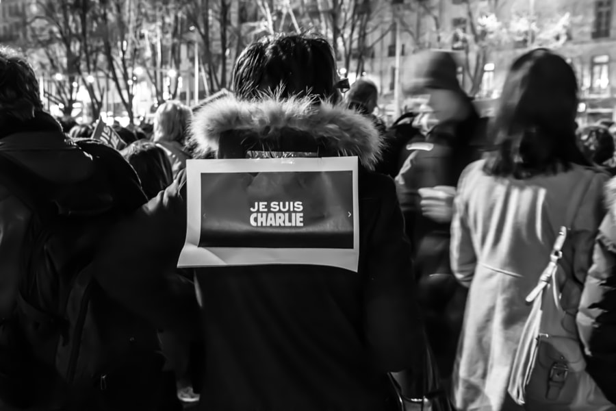 Photograph #JeSuisCharlie #NousSommesCharlie by Romain Montagnon on 500px