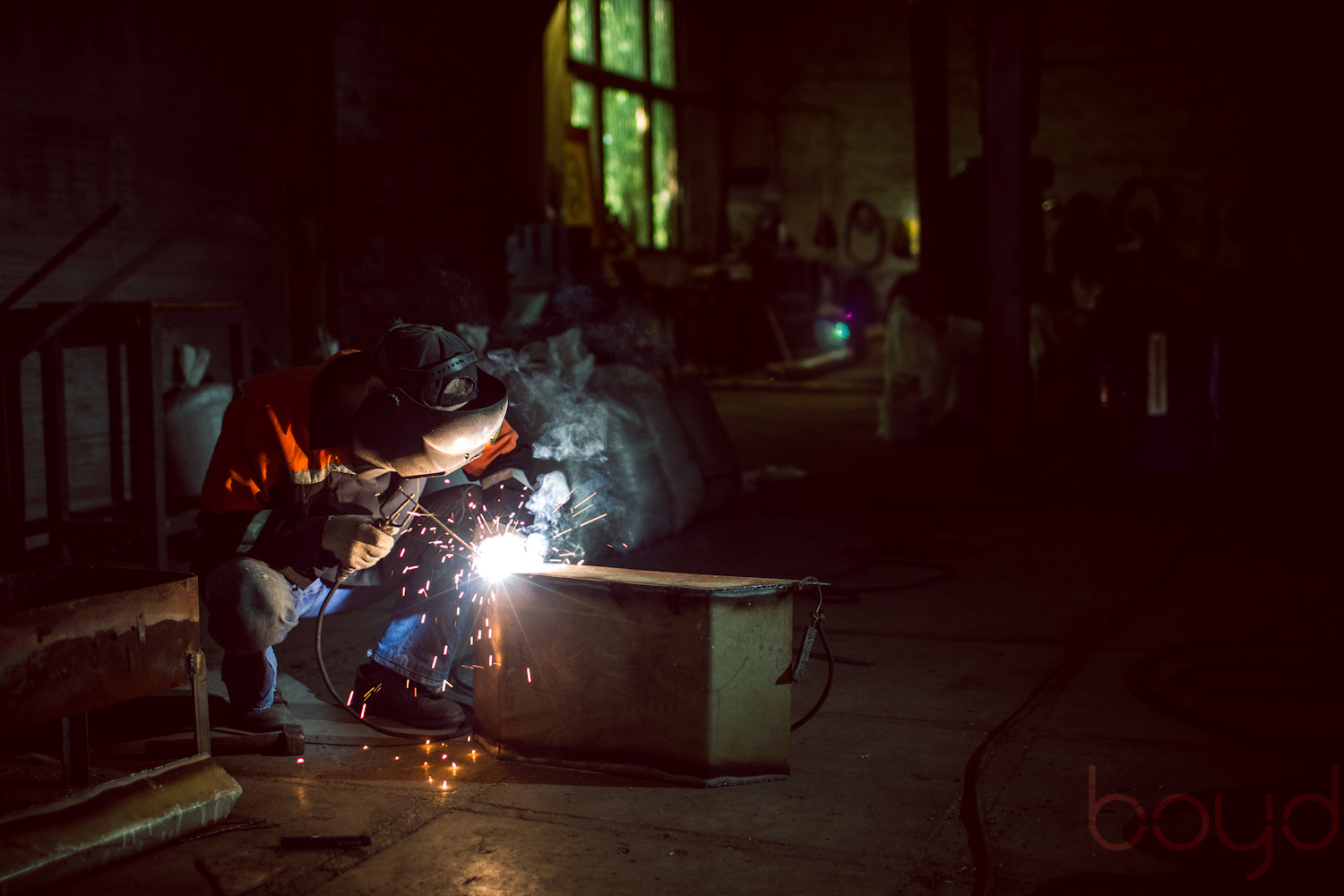 Photograph Welder by Chris Boyd on 500px