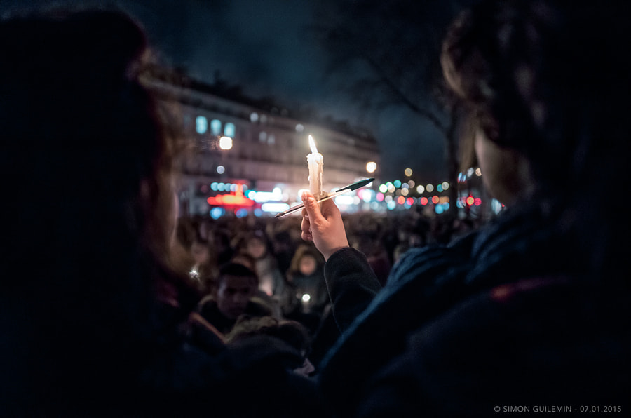 Photograph Pen + Candles for freedom of expression by Simon Guillemin on 500px