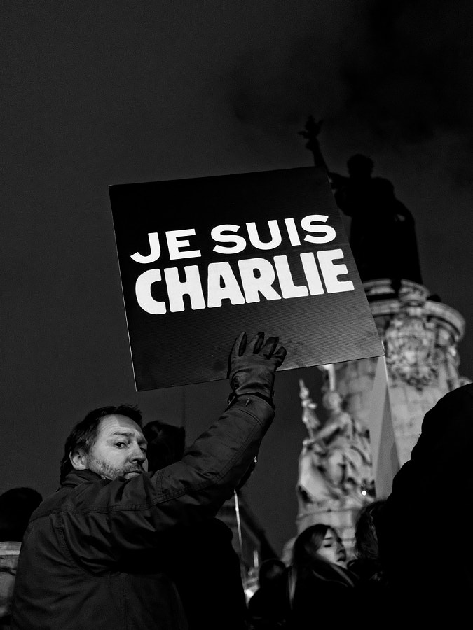 Photograph je suis charlie by laurent aublé on 500px
