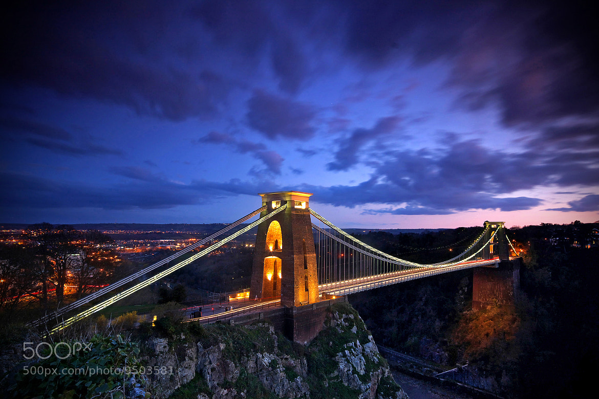 Photograph Clifton Suspension Bridge by Phil Mitchell on 500px