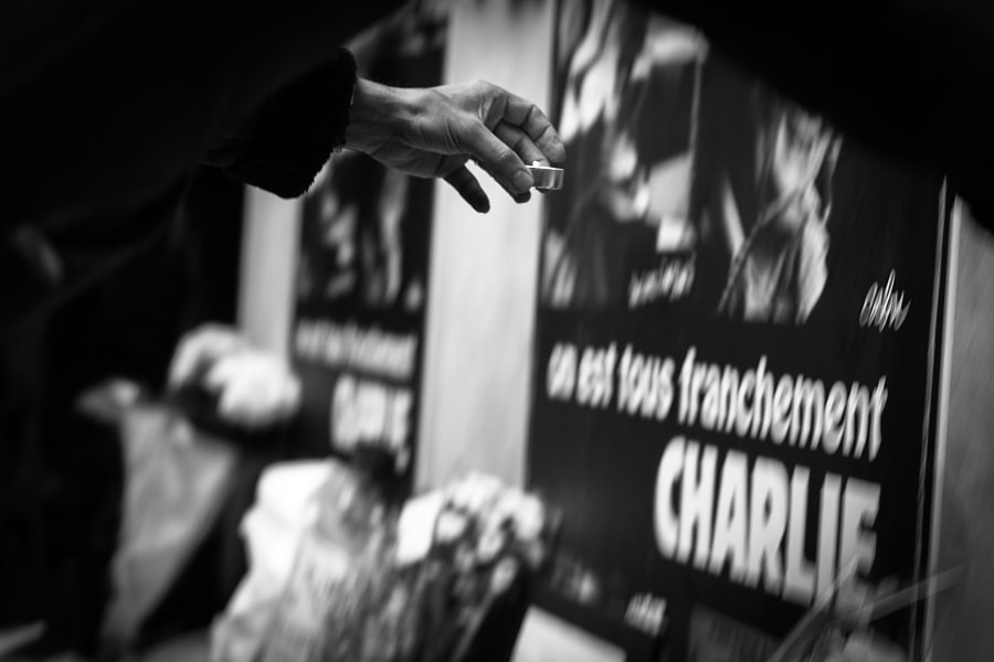 Photograph jesuischarlie by Capucine Henry on 500px