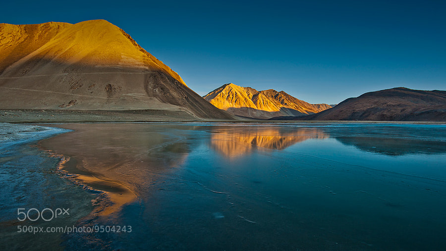 Photograph Pangong Lake II by Peerakit Jirachetthakun on 500px