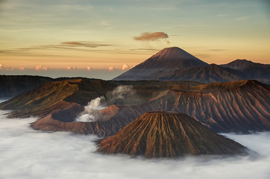 Mount Bromo during Sunrise by Kristianus Setyawan on 500px.com