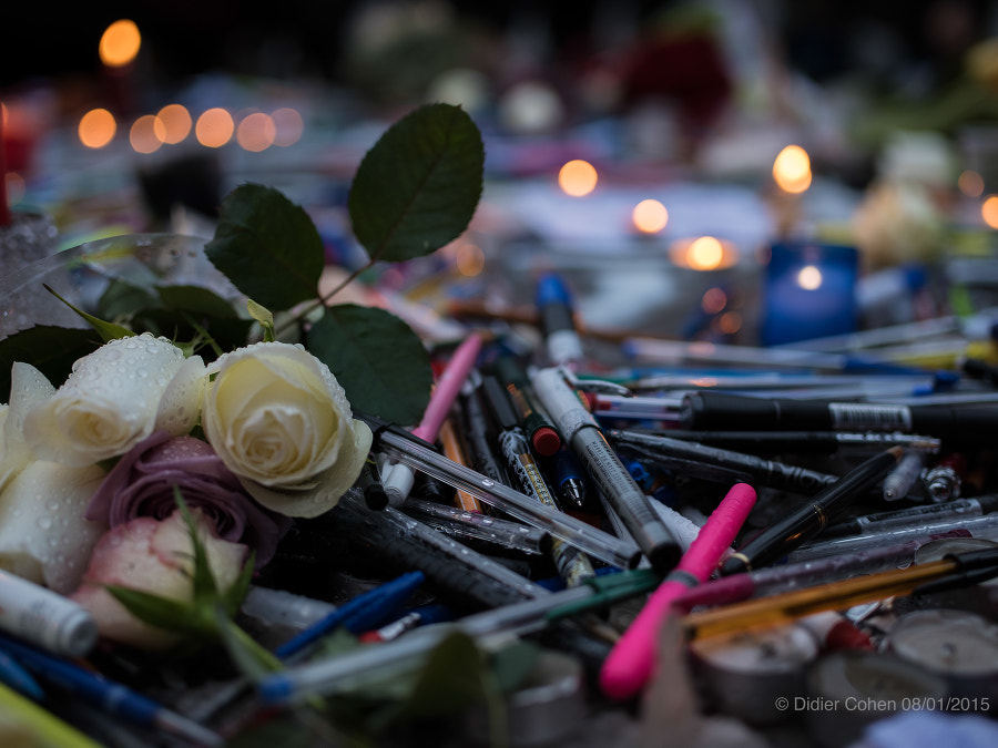 Photograph Day after... #JeSuisCharlie by Didier Cohen on 500px