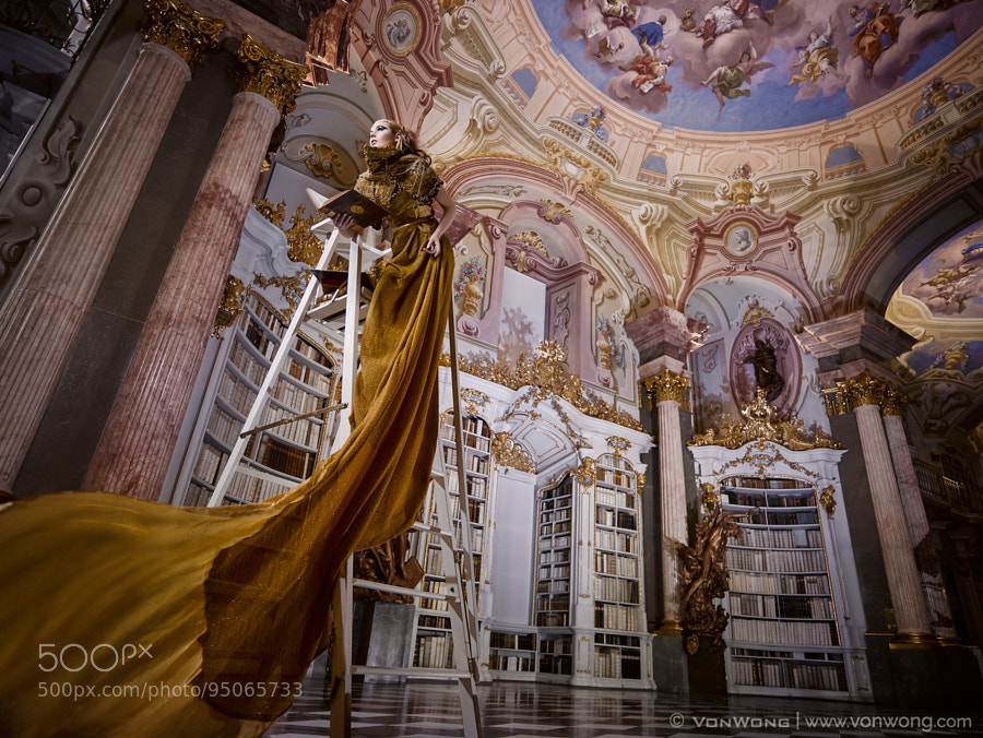 Photograph Librarian by Benjamin Von Wong on 500px