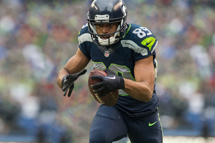 Photograph Seahawks: Eyes on the end zone by Matt McDonald on 500px