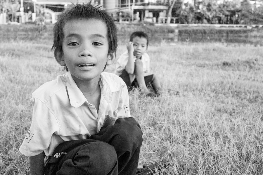 Photograph Street portrait in Siem Reap by Jeremiah Rogers on 500px