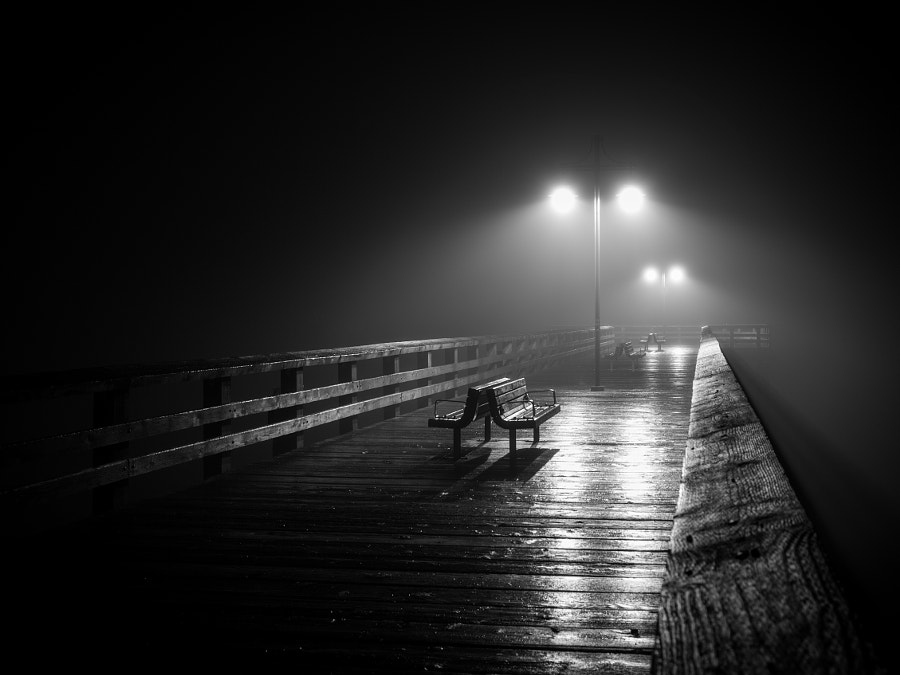 Spooky Pier by Eric Cheng on 500px.com