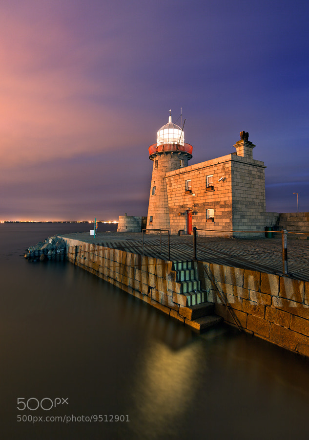 Photograph  Howth lighthouse by Stephen Emerson on 500px