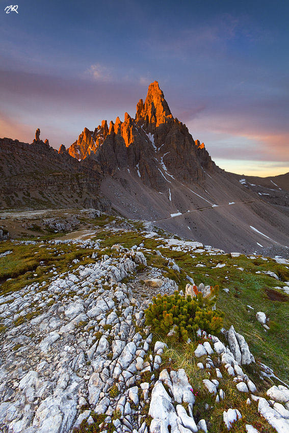 Photograph Red Passion, cresta Paterno by Matteo Re on 500px